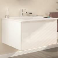 Masca baie pentru lavoar, Arthema New Attitude  AT1731-A2, cu sertare, alb, montaj suspendat, 88 x 49 x 48 cm