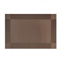 Set suport de masa, pentru bucatarie, NX-DS03, PVC + PET, maro, 30 x 45 cm, 2 piese