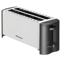 Prajitor de paine Rohnson R2152, 1200 W, 4 felii, functie decongelare, functie reincalzire, functie anulare, 6 trepte putere, argintiu