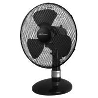 Ventilator de birou Rohnson R836, 40 W, 3 viteze, diametru 30 cm, functie oscilatie, functie inclinare, negru