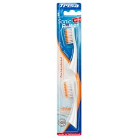 Rezerva periuta de dinti electrica Trisa Sonic Power Pro Interdental Soft, set 2 bucati, perii soft