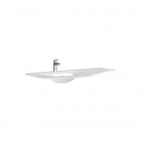 Lavoar Savini Due Armonia, alb, asimetric, 104 cm
