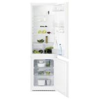 Combina frigorifica Electrolux ENN2800AJW, incorporabila, 268 l, clasa A+, inaltime 177.2 cm, tehnologie Low Frost, alb