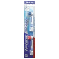 Rezerva periuta de dinti electrica Trisa Pro Clean Flexible, set 2 bucati, perii medii