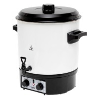 Fierbator si aparat de conservare Somogyi HG BA 27, 1800 W, 27 l, oprire temporizata, termostat, functie incalzire, functie mentinere la cald, alb + negru