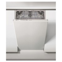 Masina de spalat vase incorporabila Indesit DSIE 2B19, 10 seturi, 6 programe, clasa A+, latime 45 cm