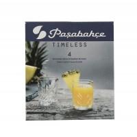 Pahar lichior, din sticla, Timeless 52780, 60 ml, set 4 bucati