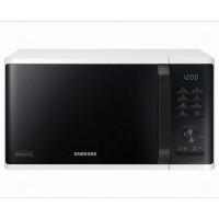 Cuptor cu microunde Samsung MS23K3515AW/OL, 23 l, 800 W, 6 nivele de putere, control electronic, functie Quick Defrost, mod Eco, alb + negru