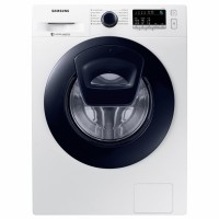 Masina de spalat rufe Samsung WW90K44305W/LE, 9 kg, 1400 rpm, clasa A+++, adancime 55 cm, functie Addwash, tehnologie Smart Check, alba