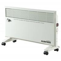 Convector electric Albatros TC-2001A, 2 trepte, 2000 W, 730 x 260 x 490 mm, termostat reglabil