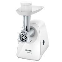 Masina de tocat carnea, electrica, Bosch SmartPower MFW2510W, 1.7 kg/min, 1500 W, alba