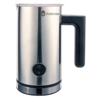 Aparat de spumare si incalzire lapte Studio Casa Barinox Latteo SC1902, 450 W, 0.30 l, argintiu