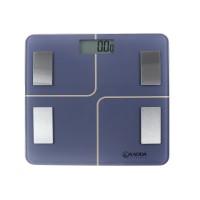 Cantar inteligent, pentru baie, electronic, Kadda IF1013A, sticla securizata, LCD, 180 kg