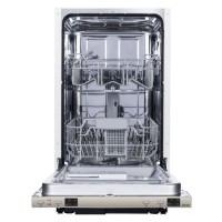 Masina de spalat vase incorporabila Studio Casa SC45BIA++, 9 seturi, 4 programe, clasa A++, latime 45 cm, functie incarcare la jumatate, functie pornire intarziata, sistem Aqua-stop