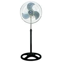 Ventilator cu picior Albatros V45M, 70 W, 3 viteze, diametru 45 cm, oscilatie la 80 grade, negru cu argintiu