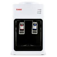 Dozator de apa Zass ZTWD 13 C, putere incalzire 550 W, putere racire 50 W, indicatoare LED pentru apa calda si rece, termostat automat, alb + negru