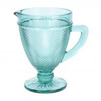 Carafa turcoaz, sticla, 1 litru