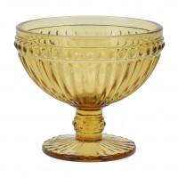 Cupa pentru inghetata, sticla, auriu, 300 ml