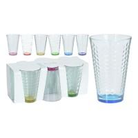 Pahar pentru apa / suc, sticla, 300 ml, set 6 bucati