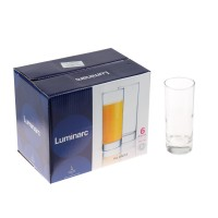 Pahar suc, Luminarc Islande J0040, sticla, 330 ml, set 6 piese