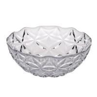 Boluri pentru servirea mesei, Estrella 10543, sticla transparenta, 380 ml, set 6 piese