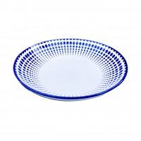 Farfurie adanca Monaco Dots 21I67, ceramica, 21 cm