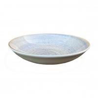 Farfurie adanca Monaco Stigma 21I15, ceramica, ivoire, 21 cm
