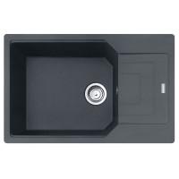 Chiuveta bucatarie compozit fragranite Franke UBG 611-78L grafite neagra cuva stanga / dreapta 78 x 50 cm