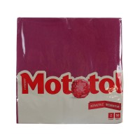 Servetele decorative de masa Mototol, celuloza, bordo, 2 straturi, 40 x 40 cm, 50 buc / set