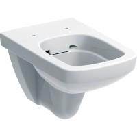 Vas WC suspendat, Geberit Selnova Rimfree 500.275.01.1, cu evacuare orizontala, 35 x 53 x 34 cm
