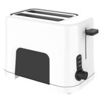 Prajitor de paine Studio Casa Neology WB1T, 850 W, 2 felii, functie decongelare, functie reincalzire, 7 trepte putere, alb + negru