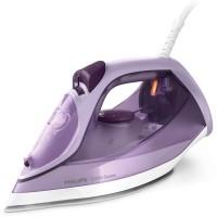 Fier de calcat Philips DST6002/30, 2400 W, talpa ceramica, 0.55 litri, 210 g/min, sistem anti-picurare, functie CalcClean, abur pe verticala, violet