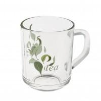 Cana Nova Tea, set 3 bucati, sticla transparenta, 246 ml