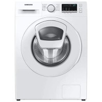 Masina de spalat rufe Samsung WW80T4520TE/LE, 8 kg, 1200 rpm, clasa D, adancime 55 cm, program Hygiene Steam, motor Digital Inverter, tehnologie Add Wash, sertar StayClean, curatare tambur, alba