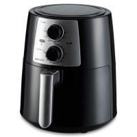 Friteuza Delimano Air Fryer Pro 110064969, cu aer cald, 3.5 litri, termostat reglabil 80 - 200 grade C, temporizator 60 min, inchidere automata, indicatoare luminoase, neagra