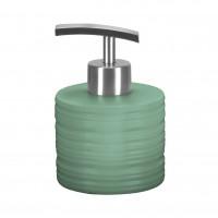 Dozator sapun lichid, Kleine Wolke Sahara 34271, ceramica, verde menta, 250 ml