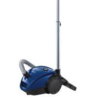 Aspirator Bosch BGL2UA112, cu sac, aspirare uscata, filtru igienic, 3.5 litri, 600 W, motor HiSpin, reglare ajustabila a puterii de aspirare, albastru