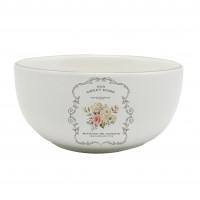 Bol pentru servirea mesei HC141R-A21, model Sweet Home, ceramica, alb, 13.7 x 6.6 cm