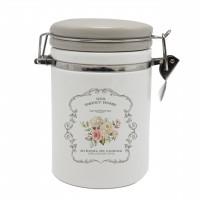 Recipient pentru ingrediente HC8600E - A21, model Sweet Home, ceramica, alb + gri, 600 ml, 9.5 x 15.3 cm