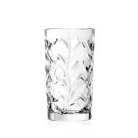 Pahar apa, Laurus RCR, din sticla cristalina, 360 ml, set 6 bucati