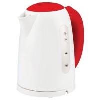 Fierbator de apa electric Studio Casa Miss Family Ket 1797 W/R, 1.7 litri, 2200 W, sistem de inchidere automata, intrerupator pornire - oprire luminos, protectie la supraincalzire, alb + rosu