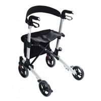 Cadru ajutator pentru mers, pliant, cu roti, pentru exterior, Ridder 38120, 63 x 67 x 93.5 cm