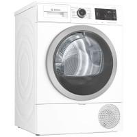 Uscator de rufe automat Bosch WTWH762BY, pompa de caldura, 9 kg, clasa A++, latime 59.7 cm, Home Connect, SelfCleaning Condenser, AutoDry, design anti-vibratie, alb