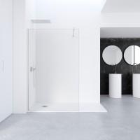 Perete dus tip walk-in, sticla, Profiltek Fado, 80 x 195 cm