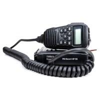 Statie radio auto CB PNI Escort HP 55, 4 W, alimentare 13.2 V, banda emisie AM / FM, ASQ reglabil, scanare canale, Dual Watch, RF Gain, blocare tastatura, ecran multicolor, SWR metru, mufa de bricheta inclusa