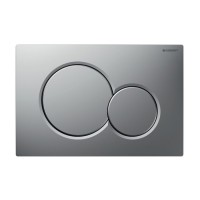 Placa actionare apa WC, Generit Sigma 01 115.770.JQ.5, finisaj cromat mat