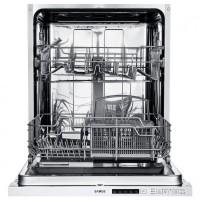 Masina de spalat vase incorporabila Samus SBDW61.5, 12 seturi, 5 programe, clasa E, latime 60 cm, control electronic cu LED-uri, pornire intarziata pana la 9 ore, functie de incarcare la jumatate
