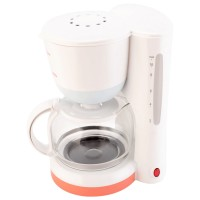 Cafetiera Daewoo DCM900U, 900 W, 1.25 litri, capacitate 15 cesti, functie anti-picurare, filtru permanent extractabil, placa pastrare cafea calda, indicator nivel apa, alba
