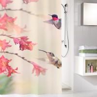 Perdea dus Kleine Wolke Kolibri 34296, multicolora, 180 x 200 cm