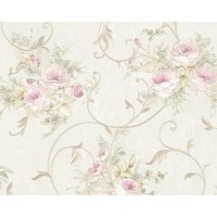 Tapet vlies, model floral, AS Creation Romantica 3 304202, 10 x 0.53 m